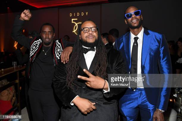 Sean Combs Chris Robinson and 2 Chainz attend Sean Combs 50th Birthday Bash presented by Ciroc Vodka on December 14 2019 in Los Angeles California