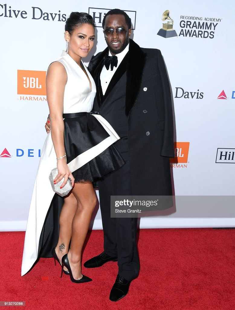 ¿Cuánto mide Cassie Ventura? - Real height Sean-combs-diddy-cassie-ventura-arrives-at-the-clive-davis-and-on-picture-id913270288