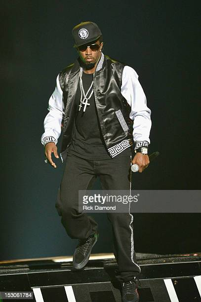 """Sean Combs, """"P. Diddy"""" performs onstage at the 2012 BET Hip Hop Awards at Boisfeuillet Jones Atlanta Civic Center on September 29, 2012 in Atlanta,..."""