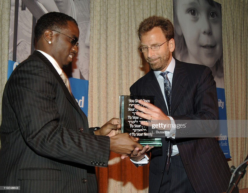 2005 UJA Music Visionary of the Year Awards - Inside