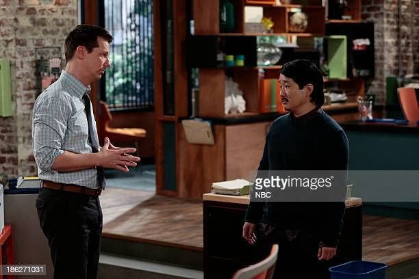 WORLD Sean Comes Clean Episode 106 Pictured Sean Hayes as Sean Bobby Lee as Mr Kim