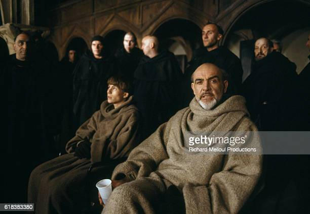Sean Connery and Christian Slater star in the 1986 film The Name of the Rose directed by JeanJacques Annaud and based on the novel by Umberto Eco The...