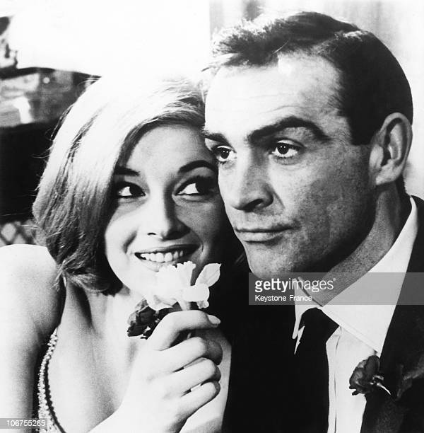 Sean Connery And Daniela Bianchi In The James Bond Film From Russia With Love 1963