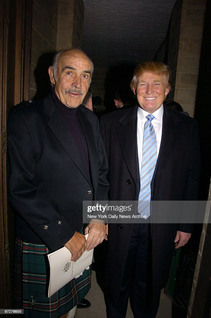 Sean Connery And Donald Trump Are At The Synod House At St John The