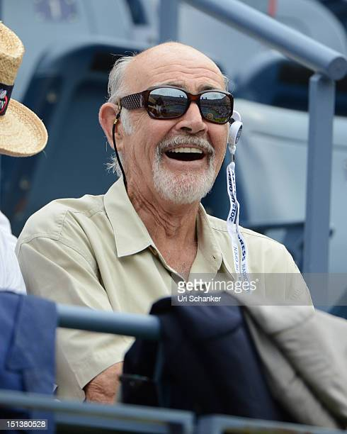 Sean Connery attends the 2012 US Open at USTA Billie Jean King National Tennis Center on September 6 2012 in New York City
