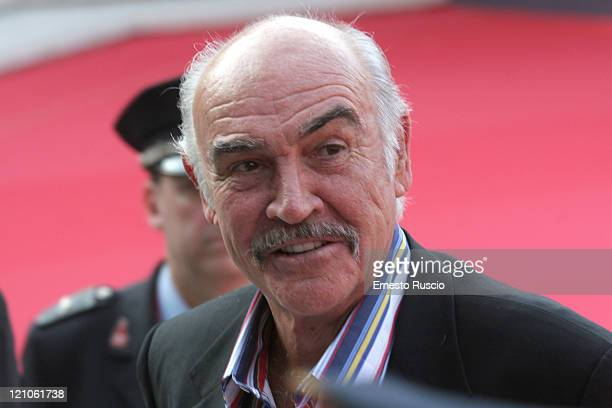 Sean Connery during 1st Annual Rome Film Festival - Sean Connery Honoured at Auditorium Parco della Musica: Sinopoli Hall in Rome, Italy.