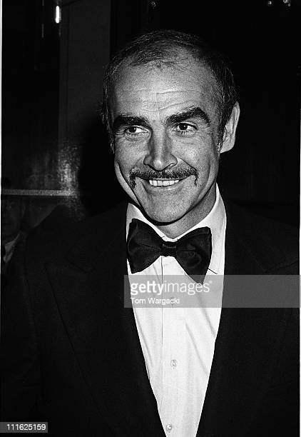 Sean Connery during Premiere Party for The Man Who Would Be King at Nathan's in New York City New York United States