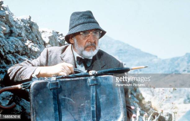 Sean Connery in a scene from the film 'Indiana Jones And The Last Crusade', 1989.