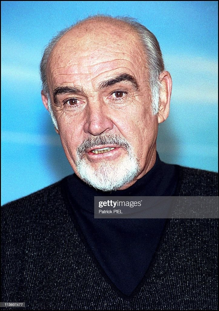 Sean Connery In Berlin Germany For His Last Film Finding Forrester News Photo Getty Images