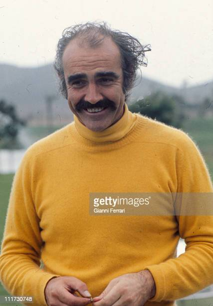 Sean Connery in the golf courses of 'La Manga del Mar Menor' Murcia Spain