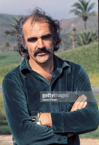 Sean Connery in the golf courses of 'La Manga del Mar Menor' Murcia Spain