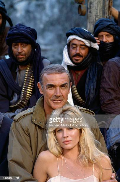 Sean Connery stars as James Bond and Kim Basinger stars as Domino Petachi in the 1983 James Bond film Never Say Never Again directed by Irvin...