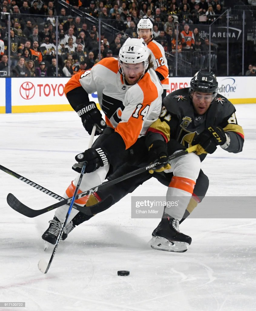 Philadelphia Flyers v Vegas Golden Knights