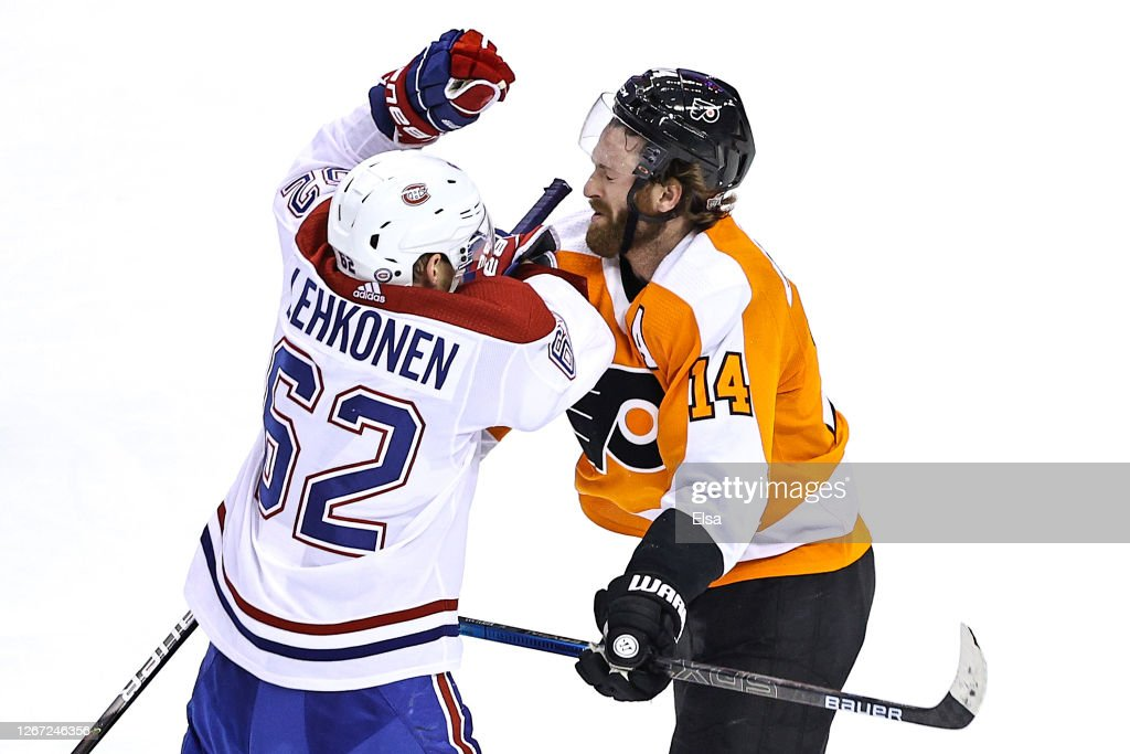 Montreal Canadiens v Philadelphia Flyers - Game Five : News Photo