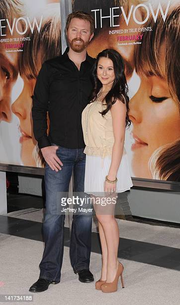 Sean Covel and Alexa Vega arrive at The Vow Los Angeles Premiere at Grauman's Chinese Theatre on February 6 2012 in Hollywood California