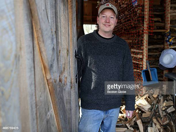 Sean Davan owner of Woodville Maples in Hopkinton at his sugar house He is getting ready for maple sugaring season as the International Maple Syrup...