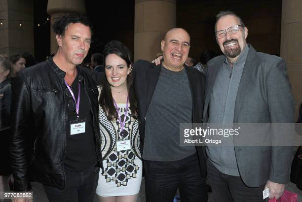 Sean Decker Sarah Nicklin Ruben Pla and Kevin Tenney arrive for the 2018 Etheria Film Night held at the Egyptian Theatre on June 16 2018 in Hollywood...