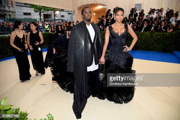 Sean 'Diddy' Combs aka Puff Daddy and Cassie attends the Rei Kawakubo/Comme des Garcons Art Of The InBetween Costume Institute Gala at Metropolitan...
