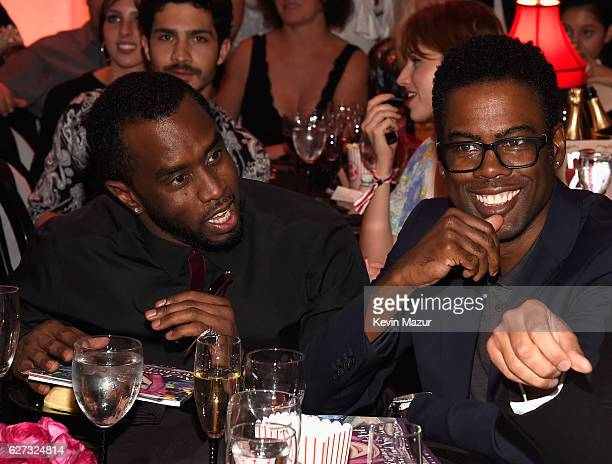Sean 'Diddy' Combs aka Puff Daddy and Chris Rock attend An Evening of Music Art Mischief and Performance to benefit Raising Malawi presented by...