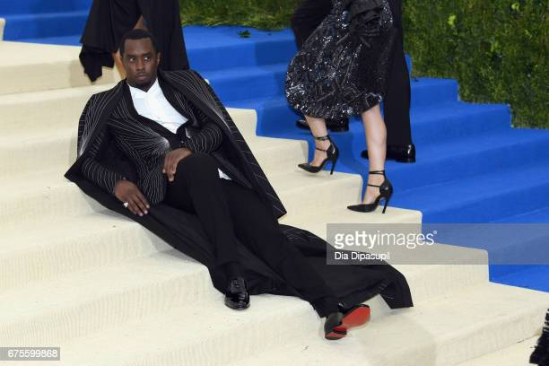 Sean 'Diddy' Combs aka Puff Daddy attends the 'Rei Kawakubo/Comme des Garcons Art Of The InBetween' Costume Institute Gala at Metropolitan Museum of...