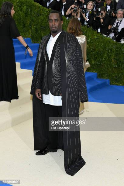 """Sean """"Diddy"""" Combs aka Puff Daddy attends the """"Rei Kawakubo/Comme des Garcons: Art Of The In-Between"""" Costume Institute Gala at Metropolitan Museum..."""