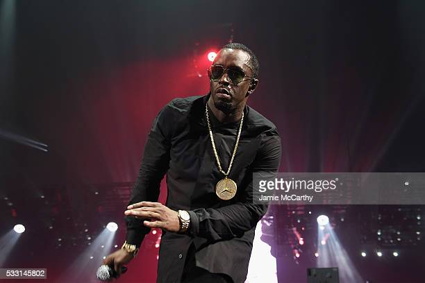 Sean Diddy Combs aka Puff Daddy performs onstage during the Puff Daddy and The Family Bad Boy Reunion Tour presented by Ciroc Vodka And Live Nation...