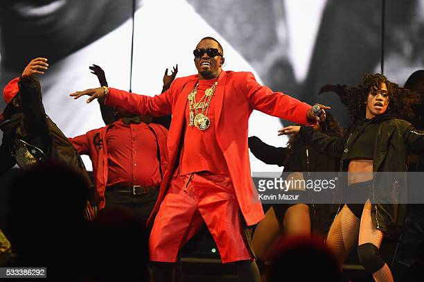 "Sean ""Diddy"" Combs aka Puff Daddy performs onstage during the Puff Daddy and The Family Bad Boy Reunion Tour presented by Ciroc Vodka and Live Nation..."