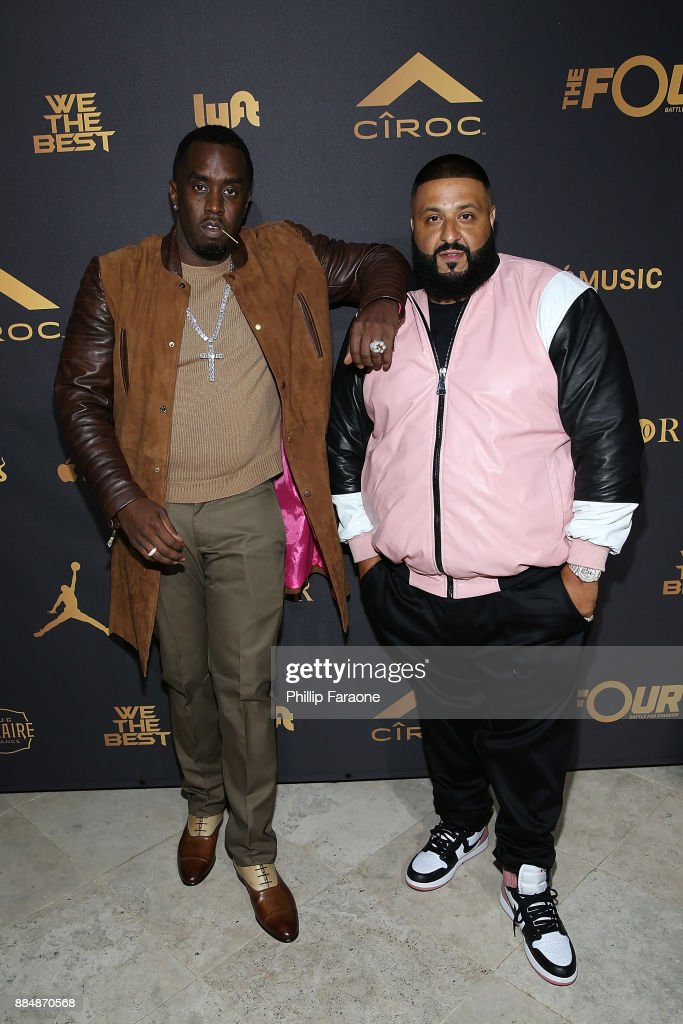Sean 'Diddy' Combs, and DJ Khaled attend Ciroc Celebrates DJ Khaled's Birthday in Beverly Hills on December 2, 2017 in Beverly Hills, California.