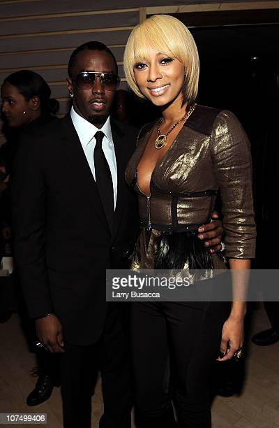 Sean Diddy Combs and singer Keri Hilson attend City Of Hope's Music and Entertainment Industry Presents The Roast Of Stephen Hill at Jazz at Lincoln...