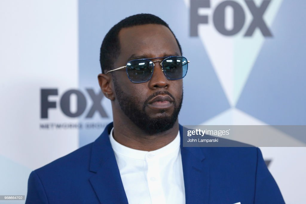 Sean 'Diddy' Combs attend 2018 Fox Network Upfront at Wollman Rink, Central Park on May 14, 2018 in New York City.