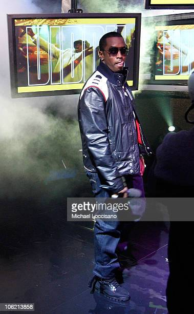 """Sean """"Diddy"""" Combs attends MTV's TRL """"Total Finale Live"""" at the MTV Studios in Times Square on November 16, 2008 in New York City."""