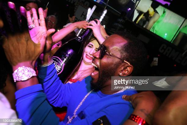 Sean Diddy Combs attends Rick Ross Diddy The Big Game Weekend 2020 at Cameo on January 31 2020 in Miami Florida