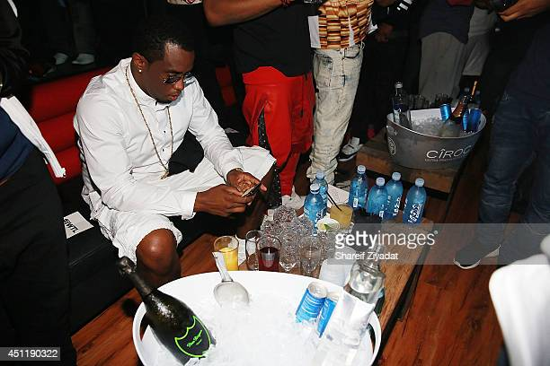 Sean 'Diddy' Combs attends the 2014 NBA Pre Draft Party at 29 West on June 24 2014 in New York City