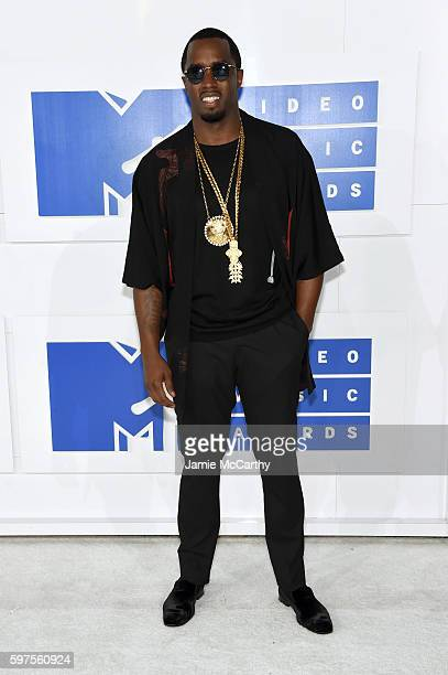 Sean Diddy Combs attends the 2016 MTV Video Music Awards at Madison Square Garden on August 28 2016 in New York City