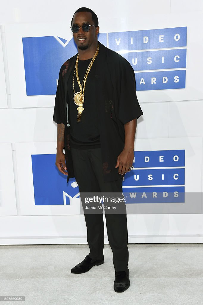 Sean Diddy Combs attends the 2016 MTV Video Music Awards at Madison Square Garden on August 28, 2016 in New York City.