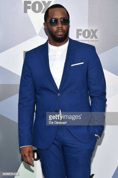 Sean Diddy Combs attends the 2018 Fox Network Upfront at Wollman Rink Central Park on May 14 2018 in New York City