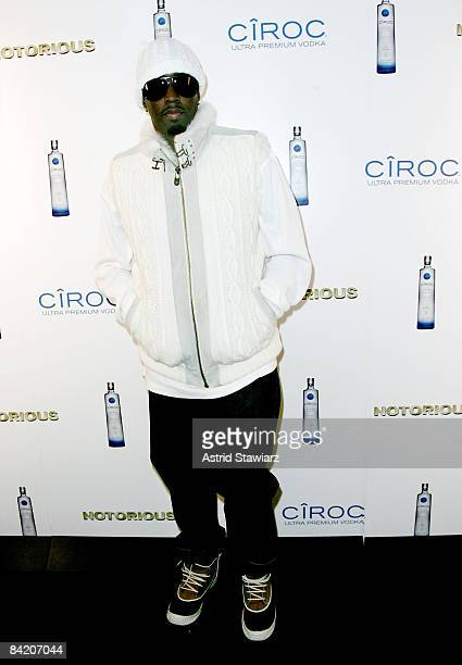 """Sean """"Diddy"""" Combs attends the """"Notorious"""" Premiere After Party Presented By Ciroc at Roseland Ballroom on January 7, 2009 in New York City."""