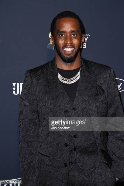 """Sean """"Diddy"""" Combs attends the Pre-GRAMMY Gala and GRAMMY Salute to Industry Icons Honoring Sean """"Diddy"""" Combs on January 25, 2020 in Beverly Hills,..."""