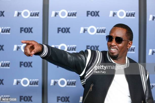 Sean Diddy Combs attends the premiere of Fox's The Four Battle For Stardom Season 2 at CBS Studios Radford on May 30 2018 in Studio City California