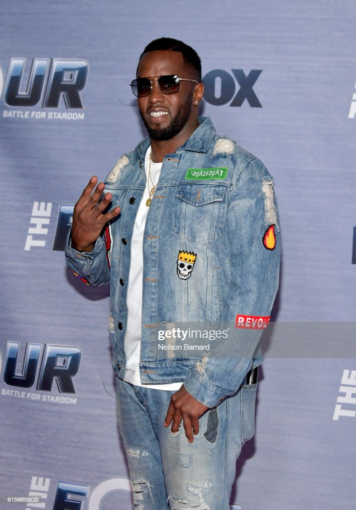 Sean 'Diddy' Combs attends the season finale viewing party for FOX's 'The Four' at Delilah on February 8, 2018 in West Hollywood, California.
