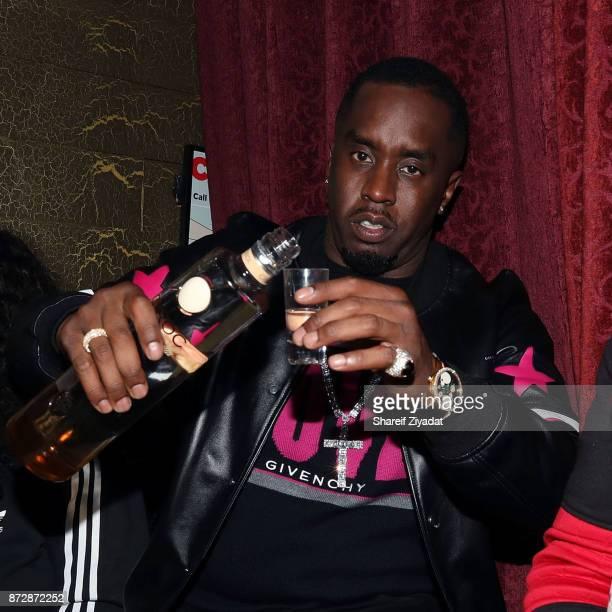 Sean 'Diddy' Combs attends Victor Cruz Birthday Celebrationon November 10 2017 in New York City
