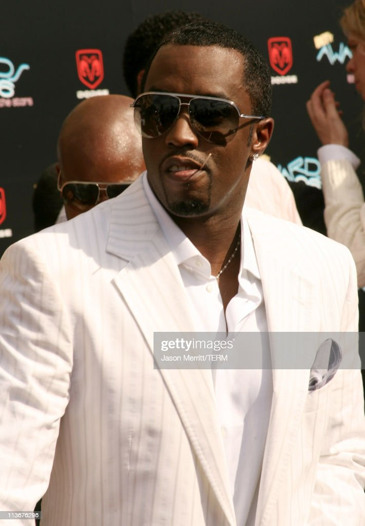 Sean 'Diddy' Combs during 2006 BET Awards - Arrivals at The Shrine in Los Angeles, California, United States.