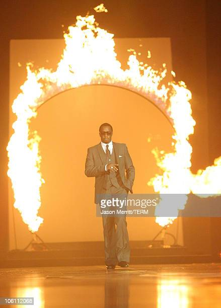 """Sean """"Diddy"""" Combs during Macy's Passport Gala 2006 - Show at Barker Hanger in Santa Monica, California, United States."""
