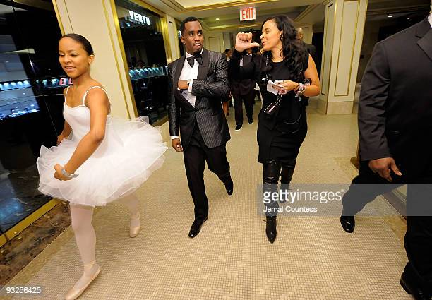 """Sean """"Diddy"""" Combs enters the Plaza Hotel to attend the Sean """"Diddy"""" Combs' Birthday Celebration Presented by Ciroc Vodka at The Grand Ballroom at..."""