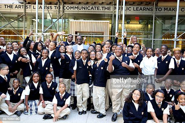 "Sean ""Diddy"" Combs Officially Opens Capital Prep Harlem Charter School on August 29, 2016 in New York City."