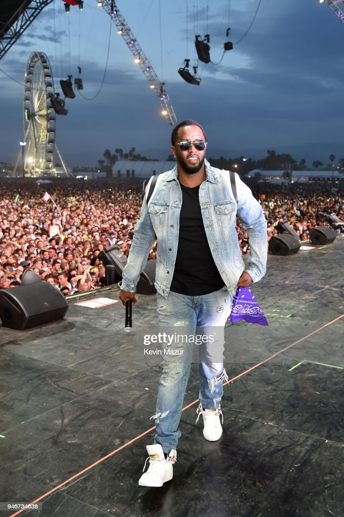 Sean 'Diddy' Combs performs onstage during the 2018 Coachella Valley Music and Arts Festival Weekend 1 at the Empire Polo Field on April 15, 2018 in Indio, California.