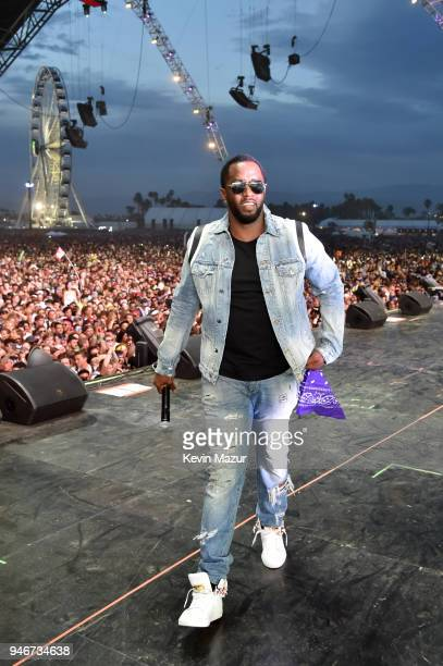 Sean Diddy Combs performs onstage during the 2018 Coachella Valley Music and Arts Festival Weekend 1 at the Empire Polo Field on April 15 2018 in...