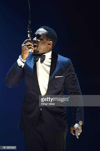Sean 'Diddy' Combs performs onstage during the iHeartRadio Music Festival at the MGM Grand Garden Arena on September 20, 2013 in Las Vegas, Nevada.