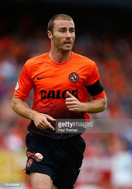 Sean Dillon of Dundee United in action during the Scottish Premier League match between Dundee United and Inverness Caledonian Thistle at Tannadice...
