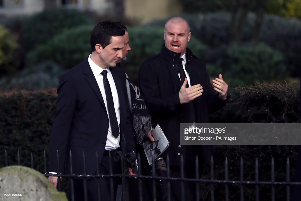 Graham Taylor Funeral Service : News Photo